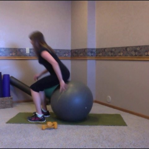 Stability Ball: Set 1, Level 3+